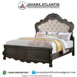 Tempat Tidur Klasik Mewah Ukiran