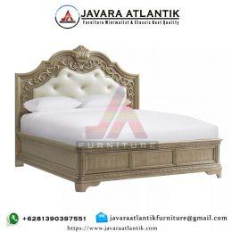 Tempat Tidur Ukir Murah Jati Gold Rustic