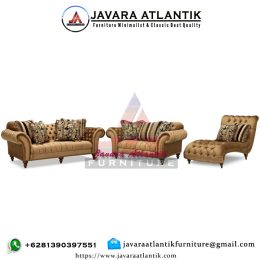 Kursi Sofa Tamu Klasik Brittney JAF0415 American Style