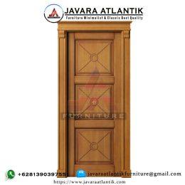 Kusen Pintu Jati MInimalis Modern JAF0419