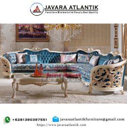 Set Sofa Sudut Ukir Ruang TamuSet Sofa Sudut Ukir Ruang Tamu
