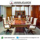 Meja Rapat Minimalis Jati JAF0431 Klasik Mewah