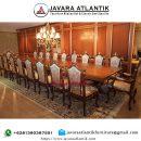Meja Rapat Ukiran Mewah JAF0430 Executive Klasik