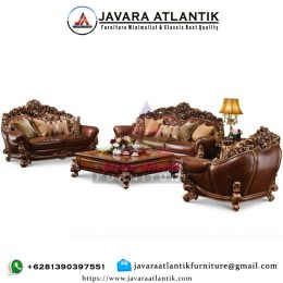 Sofa Ukir Jati Royal JAF0428 Executive