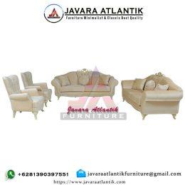 Set Kursi Sofa Mewah Ruang Tamu Utama Terbaru