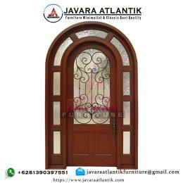 Pintu Jati Utama Rumah Klasik Mewah