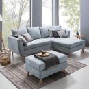 Sofa L Minimalis Retro Modern