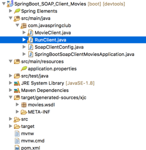 Consume Spring SOAP web services using client application