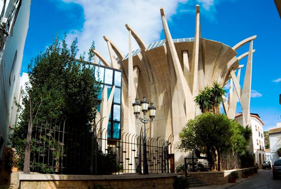 Iglesia de Nuestra Seora de Loreto de Duanes de la Mar Jvea  Jveacom  Xbiacom