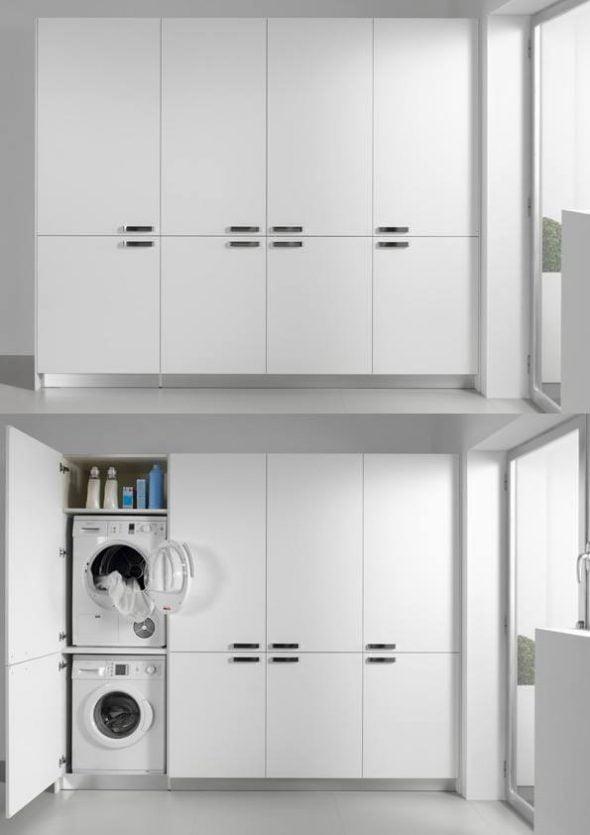 Mueble auxiliar de limpieza Carpintera Fusta590x835