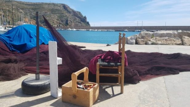 Imagen: Redes pesqueras