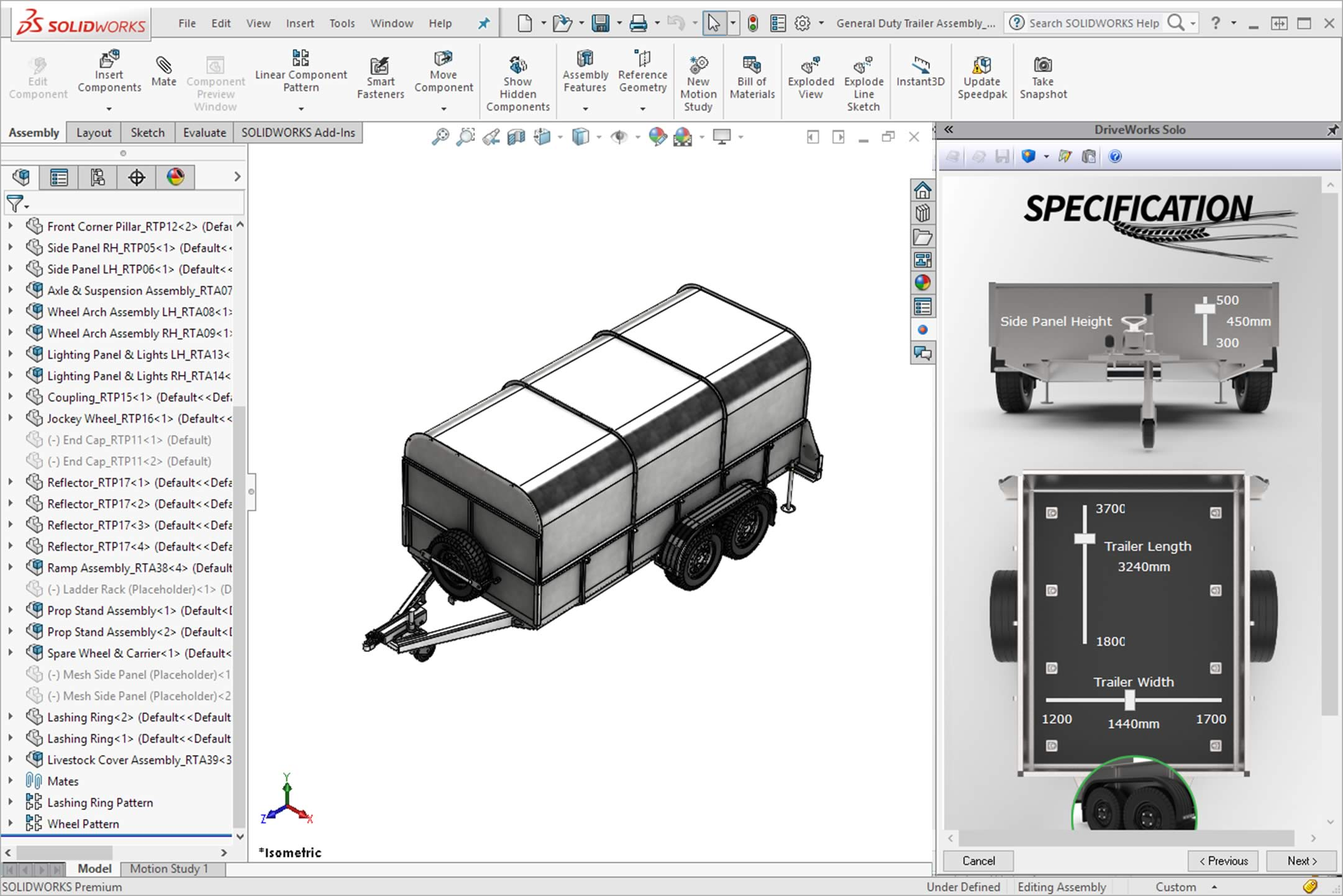 DriveWorks SOLIDWORKS Addin for Automation  Sales