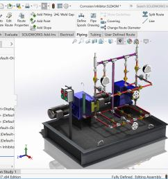 solidworks routing assembly [ 1746 x 1241 Pixel ]