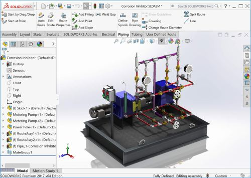 small resolution of solidworks routing assembly