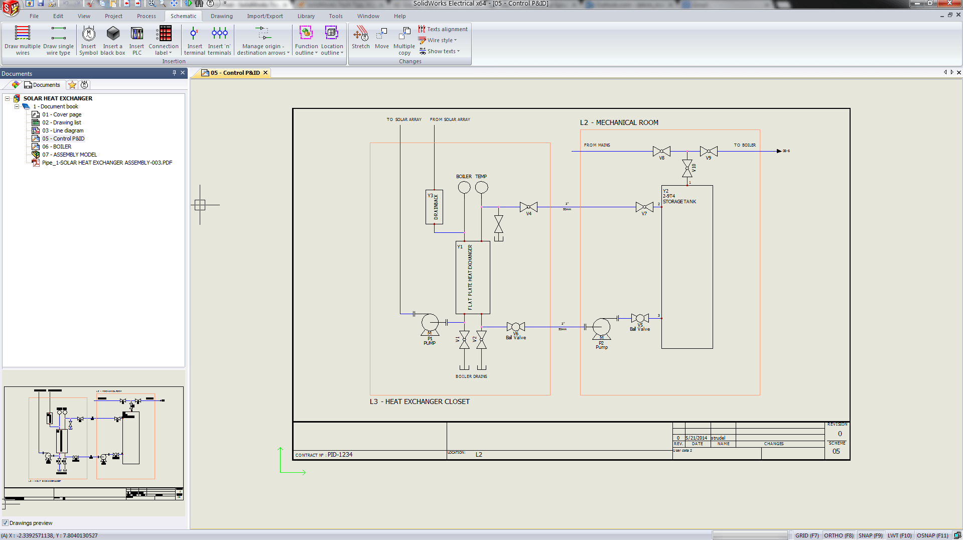 hight resolution of solidworks electrical p id 2d diagram solidworks electrical piping instrumentation