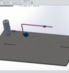 solidworks 3d cad with imported p id diagram [ 1920 x 1049 Pixel ]