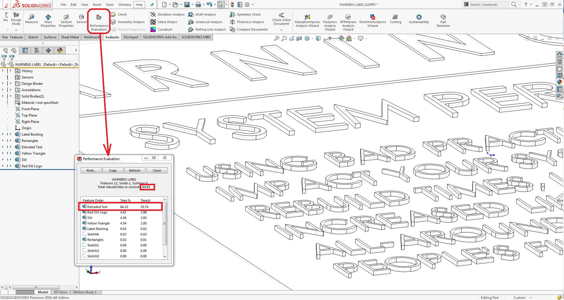 Increase System Performance Using Solidworks Decals