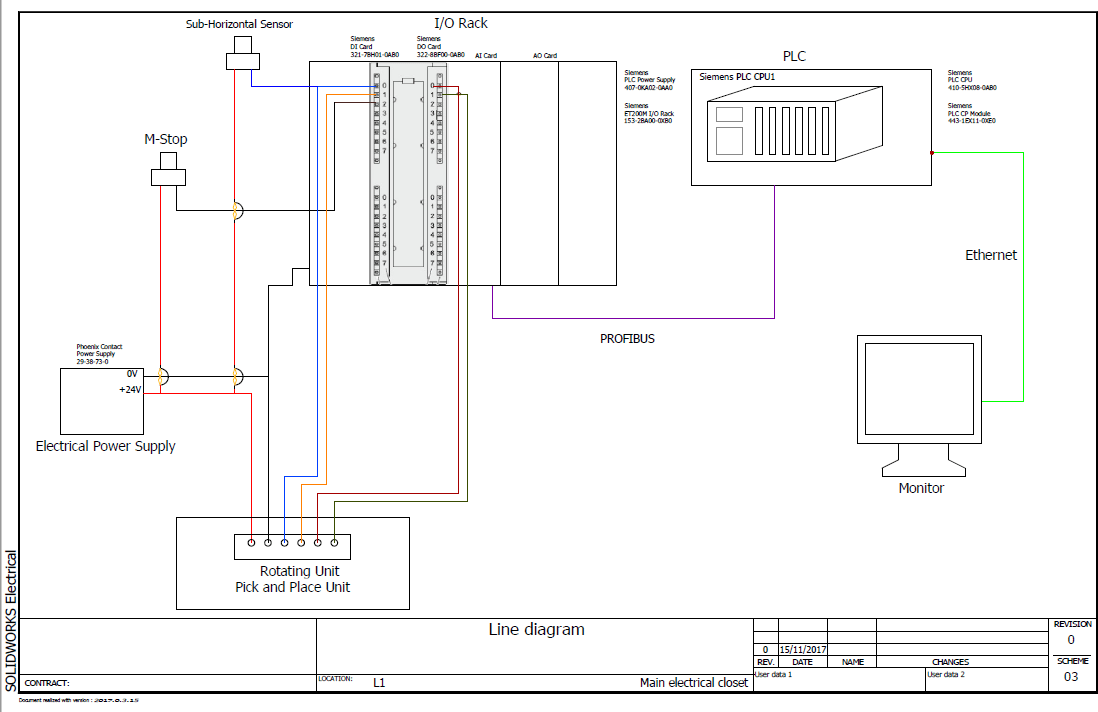 Creating my first Electrical Drawing with SOLIDWORKS