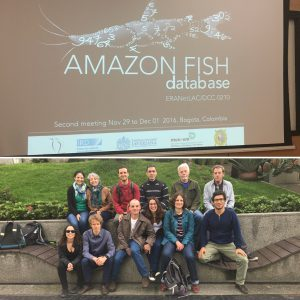 La Pontificia Universidad Javeriana ha recibido varias reuniones del proyecto Amazon Fish.