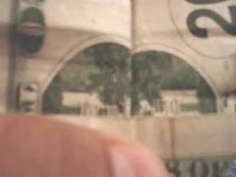 Coincidencias inquietantes impresas en los billetes.