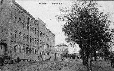Manicomio entre los años 1860 y 1886 Fuente: Fototeca del Patrimonio Histórico.