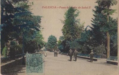 Paseo del Salón de Isabel 2ª 1900-10