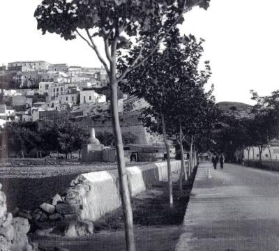 Avinguda d' Ignaci Wallis primers anys del segle XX