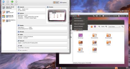 Windows7 en VirtualBox