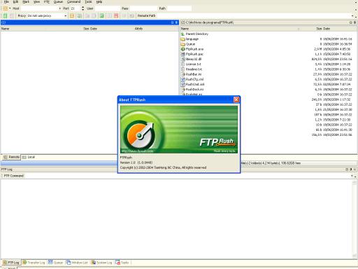FTPRush 1.00 RC 1