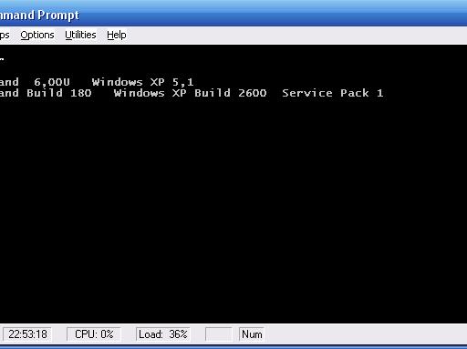 Más detalles de 4NT 6.0 y de Take Command/32 6.0 (build 180)