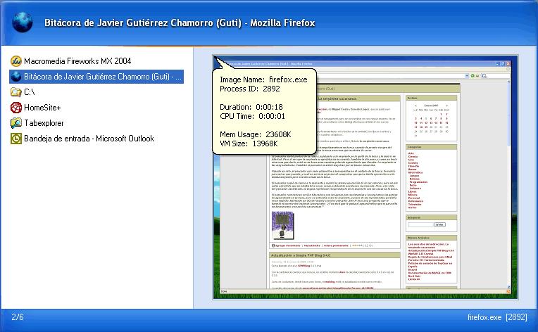 TaskSwitchXP Pro 1.1.2 Alpha