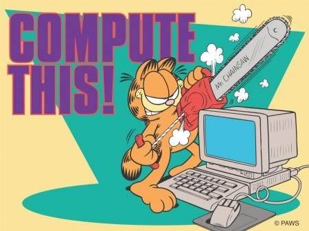 Garfield y los ordenadores