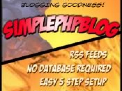 Actualizado a SPHPBlog 0.4.8