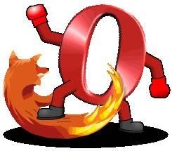 Opera versus Firefox