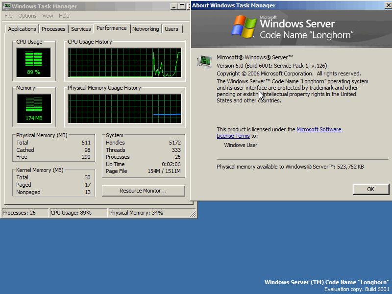 Windows Server 2008 Beta 3
