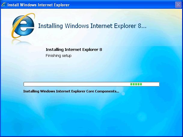 Internet Explorer 8 Beta