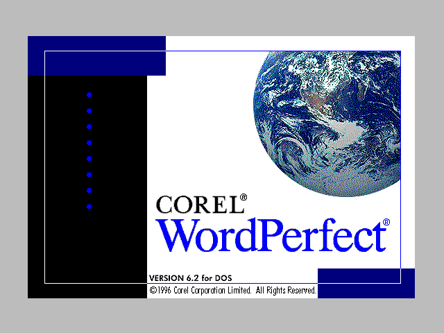 Wordperfect 6 para DOS