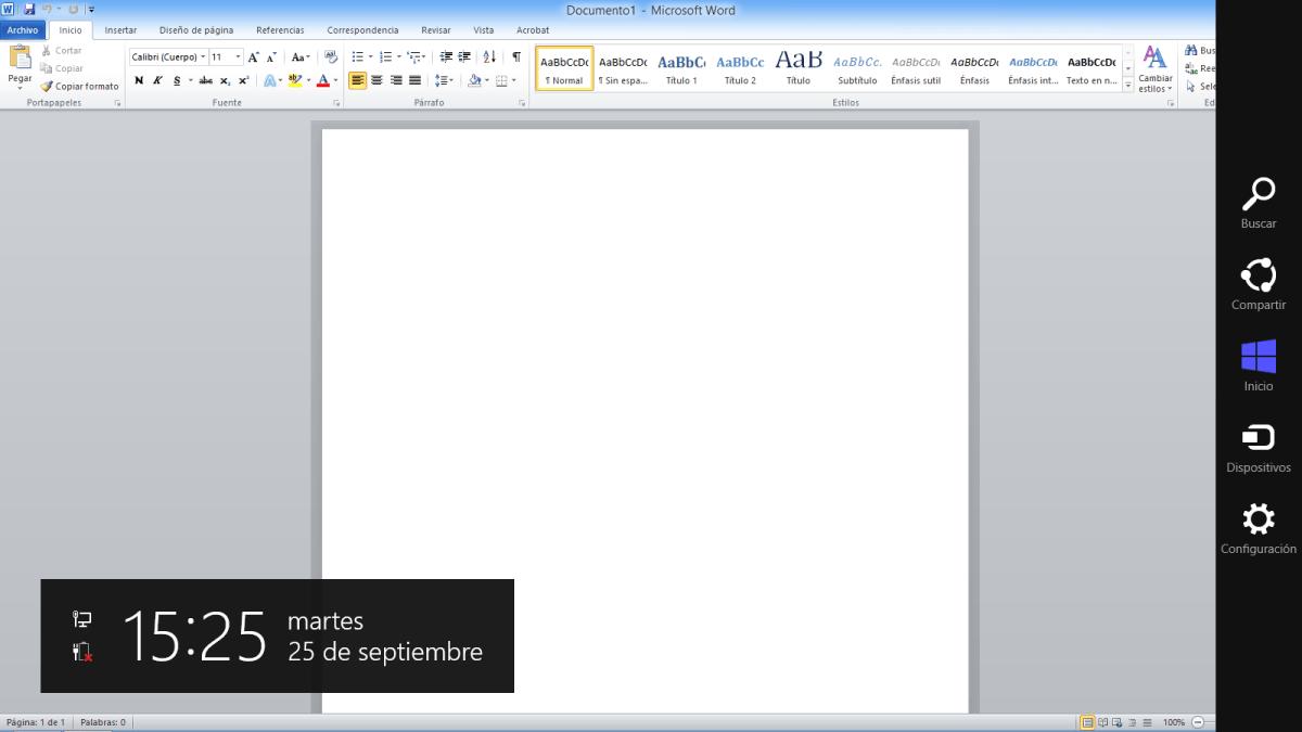 Una semana con Windows 8