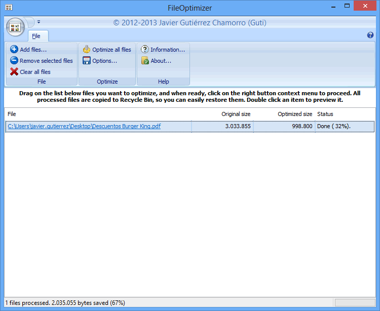 FileOptimizer 6