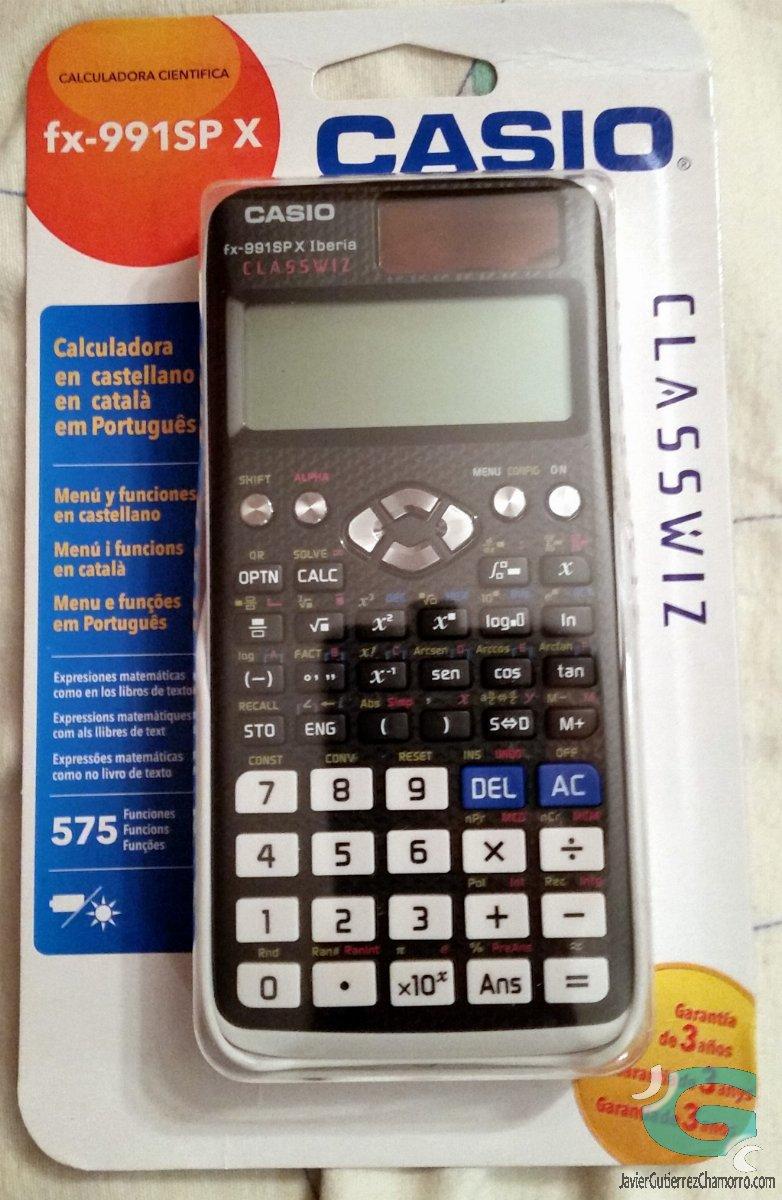 La familia de calculadoras ClassWiz