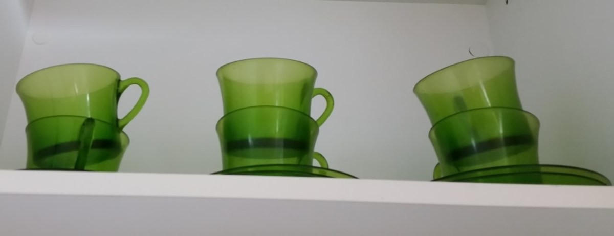 Vajilla Duralex Lys verde