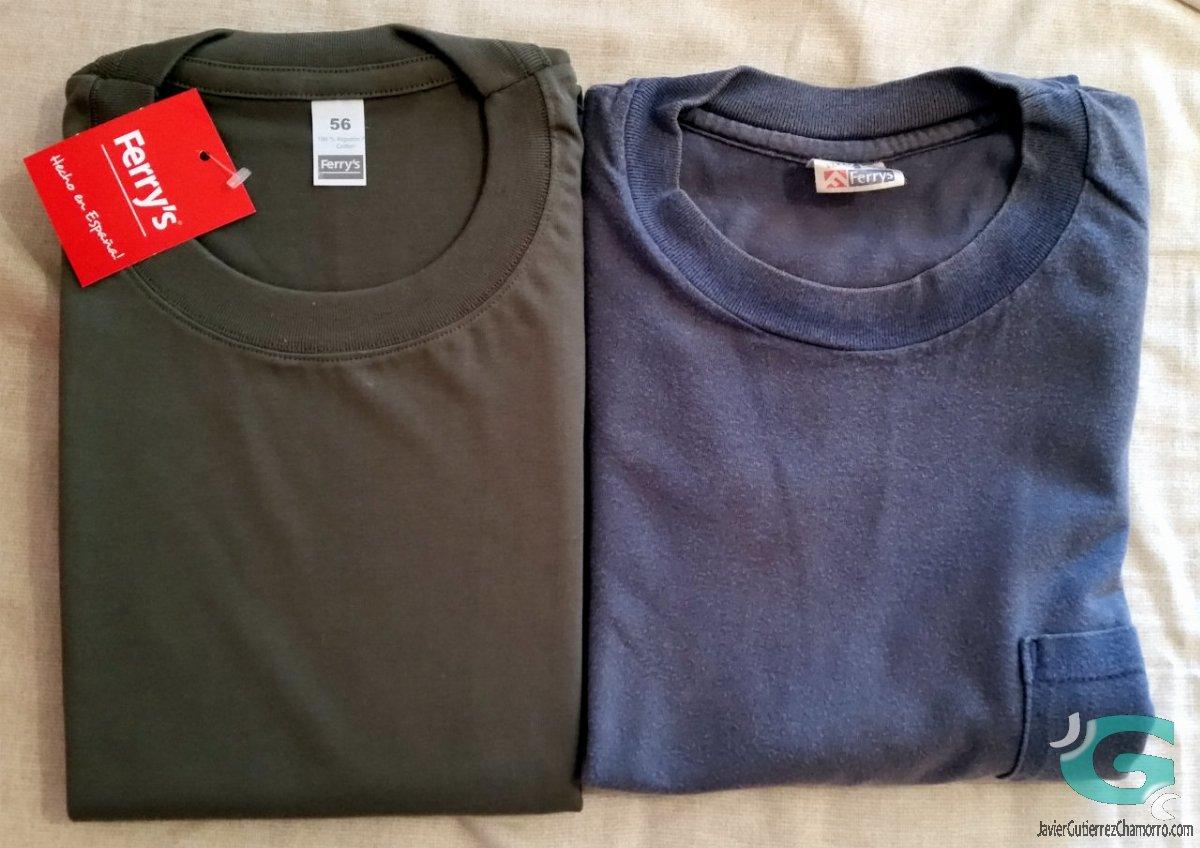 ¿Cómo envejece una camiseta Ferry's?