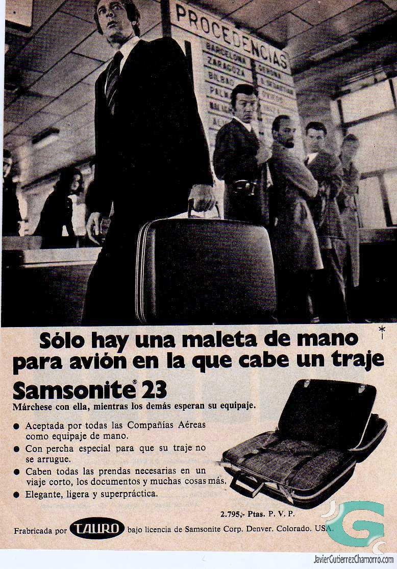 Maletín Samsonite
