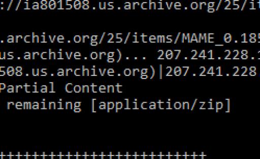 Descargas de archivos con WGET
