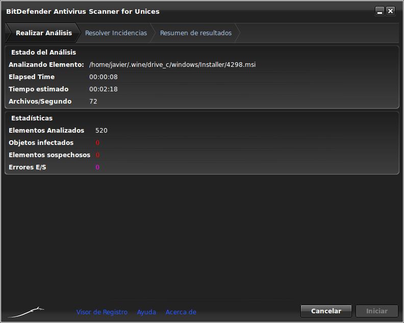BitDefender Antivirus Scanner for Unices
