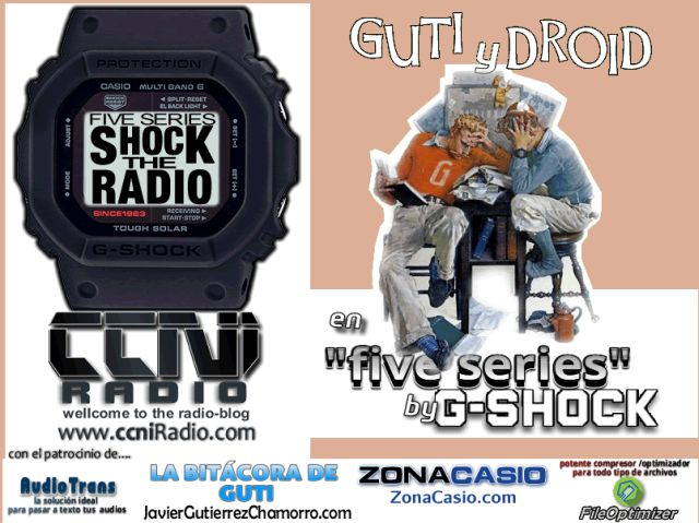 Five Series en Shock the Radio (programas 7 al 12 y bonus)