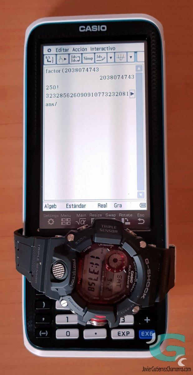 Casio fx-CP400 (Introducción e impresiones)