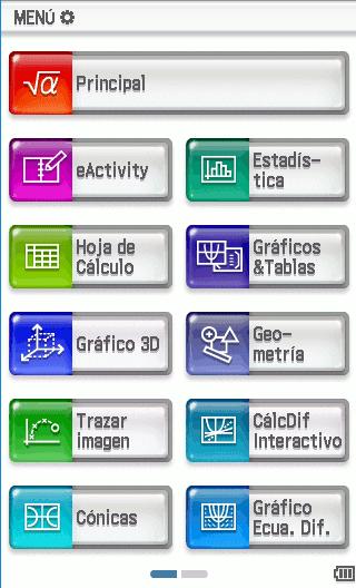 Casio fx-CP400 (Operaciones)
