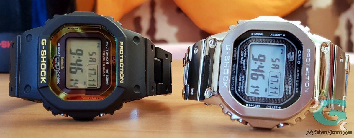 El Casio GW-B5600 no tiene tecnología STN