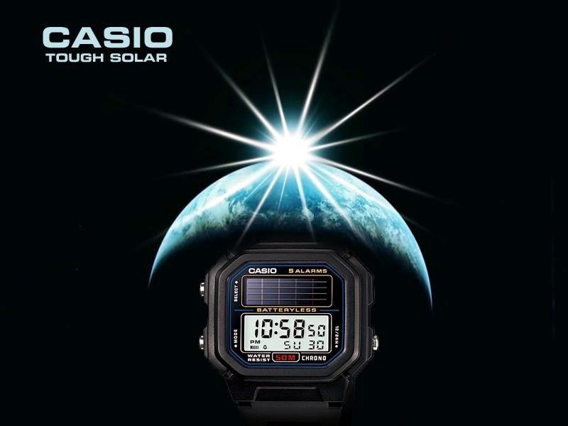 La durabilidad de los Casio Batteryless
